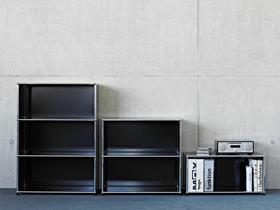 usm regal 3 fach hoch offen sofort lieferbar. Black Bedroom Furniture Sets. Home Design Ideas